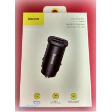 Автомобильное зарядное устройство Baseus CCALL-DS0S QS3.0 30W