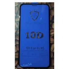 Защитное керамическое стекло на iPhone Apple X и XS и 11 Pro